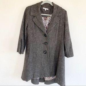 CAbi 169 Wool Swing Coat Shakespeare Jacket